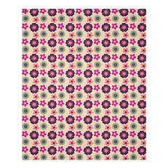 Cute Floral Pattern Shower Curtain 60  x 72  (Medium)