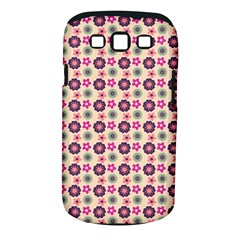 Cute Floral Pattern Samsung Galaxy S Iii Classic Hardshell Case (pc+silicone)
