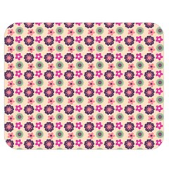 Cute Floral Pattern Double Sided Flano Blanket (medium)