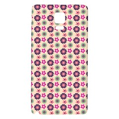 Cute Floral Pattern Galaxy Note 4 Back Case