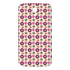 Cute Floral Pattern Samsung Galaxy Mega I9200 Hardshell Back Case