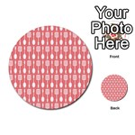 Pattern 509 Multi-purpose Cards (Round)  Front 18