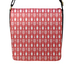 Pattern 509 Flap Messenger Bag (l)