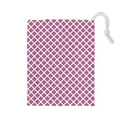 Cute Pretty Elegant Pattern Drawstring Pouches (large)