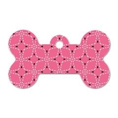 Cute Pretty Elegant Pattern Dog Tag Bone (one Side)