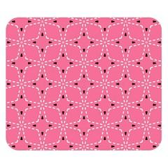 Cute Pretty Elegant Pattern Double Sided Flano Blanket (small)