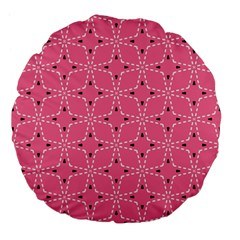 Cute Pretty Elegant Pattern Large 18  Premium Flano Round Cushions