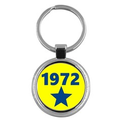 1972 Key Chains (round)