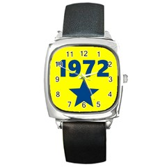 1972 Square Metal Watches