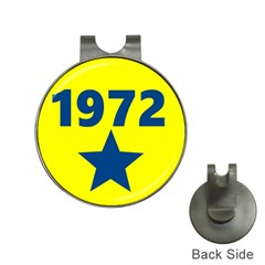 1972 Hat Clips With Golf Markers