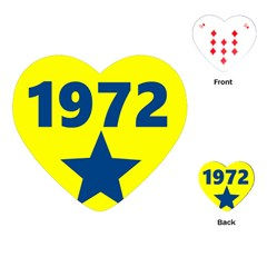 1972 Playing Cards (heart)