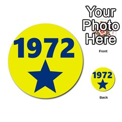 1972 Multi-purpose Cards (Round)