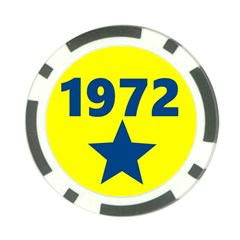 1972 Poker Chip Card Guards (10 pack)