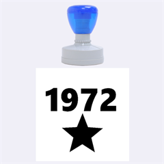 1972 Rubber Round Stamps (Large)