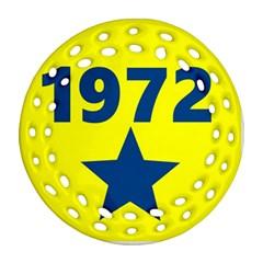 1972 Ornament (Round Filigree)