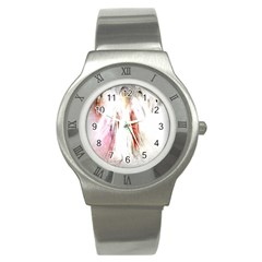 Abstract Angel in White Stainless Steel Watches