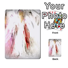 Abstract Angel in White Multi-purpose Cards (Rectangle)