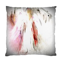 Abstract Angel in White Standard Cushion Case (One Side)