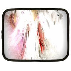 Abstract Angel in White Netbook Case (XXL)
