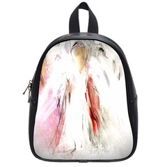 Abstract Angel in White School Bags (Small)