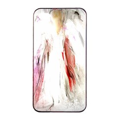 Abstract Angel in White Apple iPhone 4/4s Seamless Case (Black)