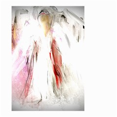 Abstract Angel In White Small Garden Flag (two Sides)