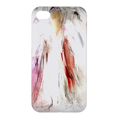 Abstract Angel In White Apple Iphone 4/4s Premium Hardshell Case