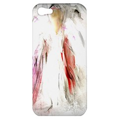 Abstract Angel in White Apple iPhone 5 Hardshell Case