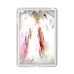 Abstract Angel in White iPad Mini 2 Enamel Coated Cases