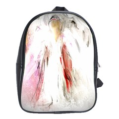 Abstract Angel In White School Bags (xl)