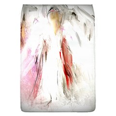Abstract Angel in White Flap Covers (L)