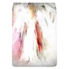 Abstract Angel in White Flap Covers (S)