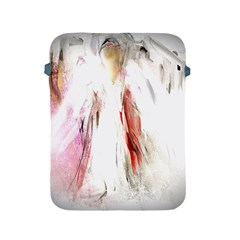 Abstract Angel in White Apple iPad 2/3/4 Protective Soft Cases