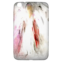 Abstract Angel In White Samsung Galaxy Tab 3 (8 ) T3100 Hardshell Case