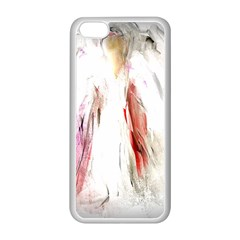 Abstract Angel in White Apple iPhone 5C Seamless Case (White)