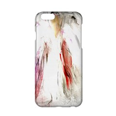 Abstract Angel in White Apple iPhone 6 Hardshell Case
