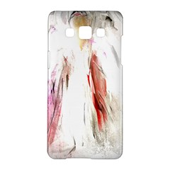 Abstract Angel in White Samsung Galaxy A5 Hardshell Case