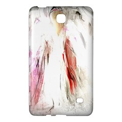 Abstract Angel in White Samsung Galaxy Tab 4 (7 ) Hardshell Case