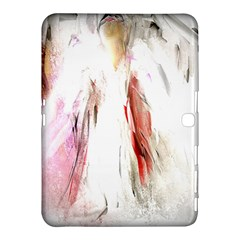 Abstract Angel in White Samsung Galaxy Tab 4 (10.1 ) Hardshell Case