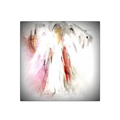 Abstract Angel In White Satin Bandana Scarf