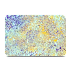 Abstract Earth Tones With Blue  Plate Mats
