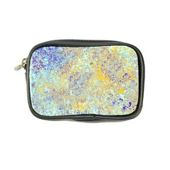 Abstract Earth Tones With Blue  Coin Purse
