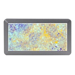 Abstract Earth Tones With Blue  Memory Card Reader (Mini)