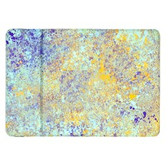 Abstract Earth Tones With Blue  Samsung Galaxy Tab 8.9  P7300 Flip Case