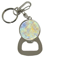 Abstract Earth Tones With Blue  Bottle Opener Key Chains