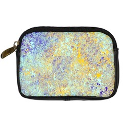 Abstract Earth Tones With Blue  Digital Camera Cases