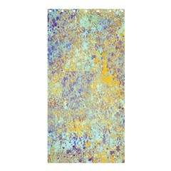 Abstract Earth Tones With Blue  Shower Curtain 36  x 72  (Stall)