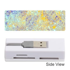 Abstract Earth Tones With Blue  Memory Card Reader (Stick)