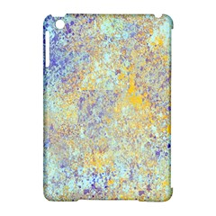 Abstract Earth Tones With Blue  Apple Ipad Mini Hardshell Case (compatible With Smart Cover)
