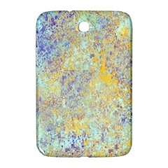 Abstract Earth Tones With Blue  Samsung Galaxy Note 8 0 N5100 Hardshell Case